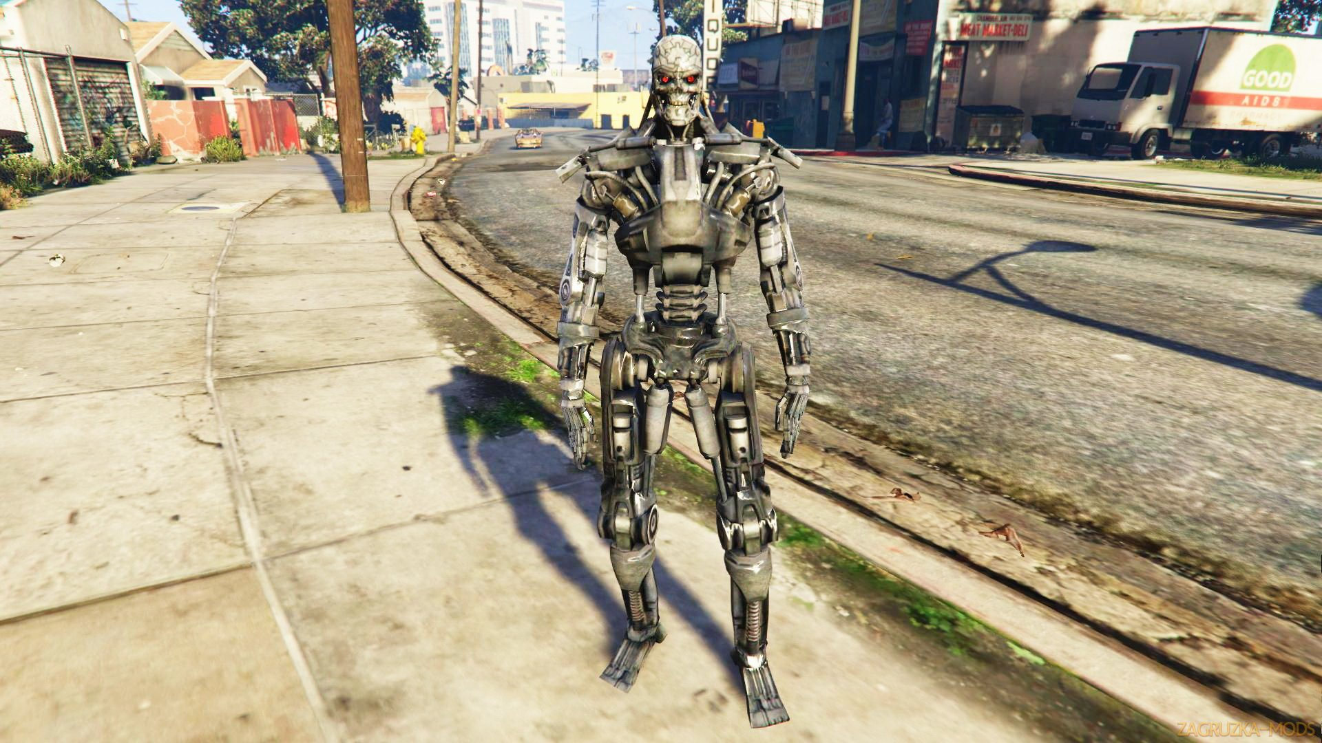 Terminator T-600 Mod v1.0 for GTA 5