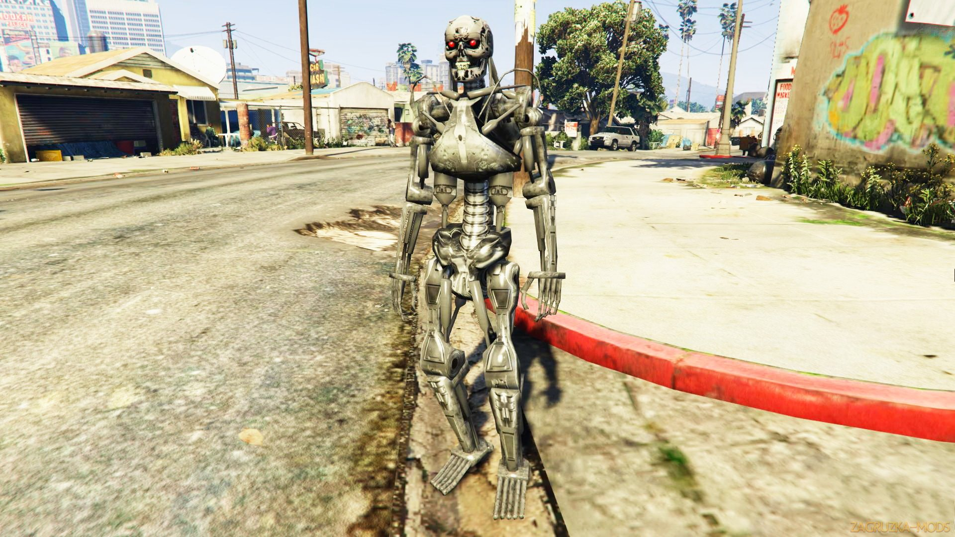 Terminator T-800 Mod v1.0 for GTA 5