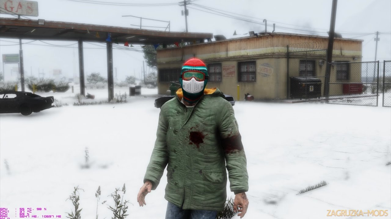 Christmas in Singleplayer (Snow Mod) v1. for GTA 5