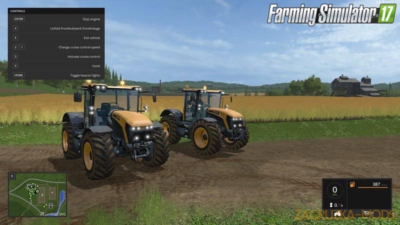 JCB Fastrac 4000 Pack v1.0 for Fs17