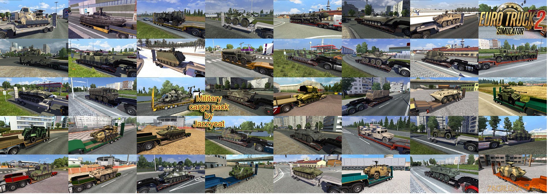 Military Cargo Pack v2.2.1 by Jazzycat [1.27.x]