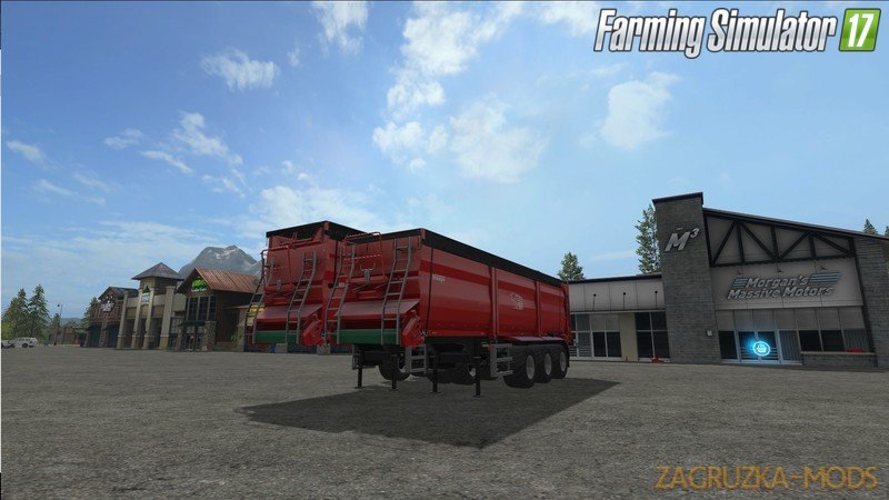Krampe SB30 / 60 with top and hitch. v1.1.0.0 for Fs17