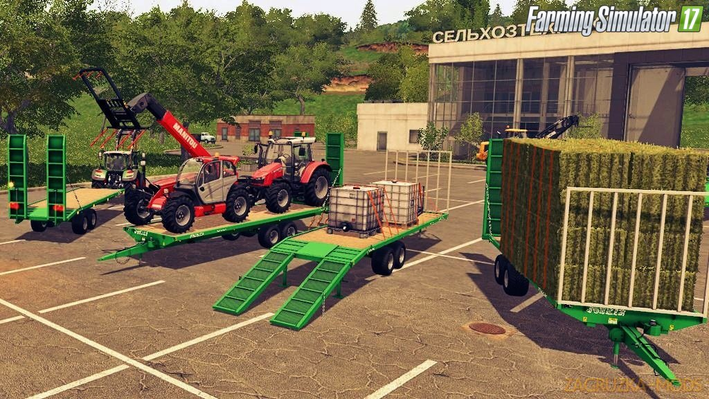 Joskin Wago Loader 8M and 10M for Fs17