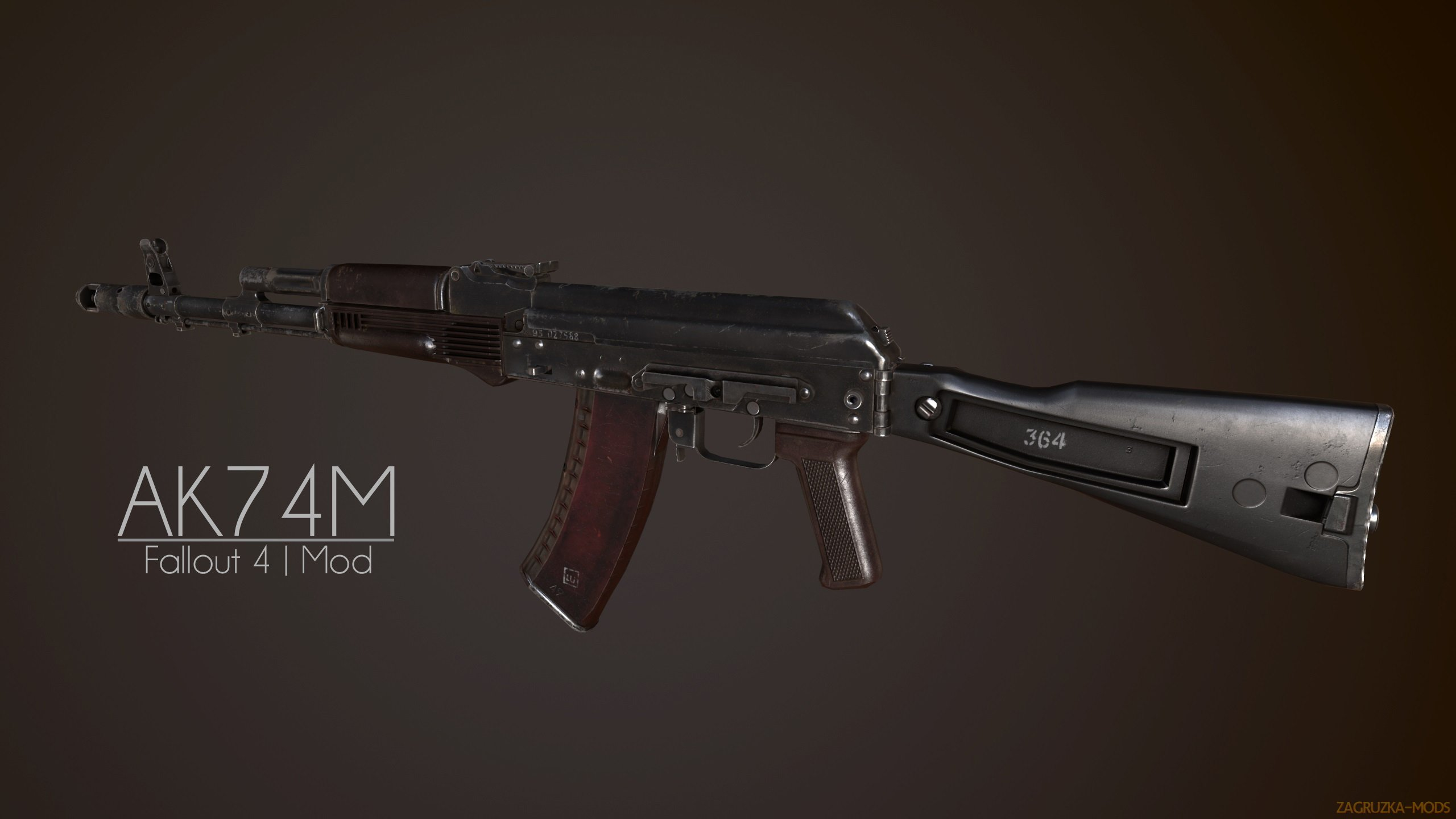 AK74M - Assault Rifle v1.0.1 for Fallout 4
