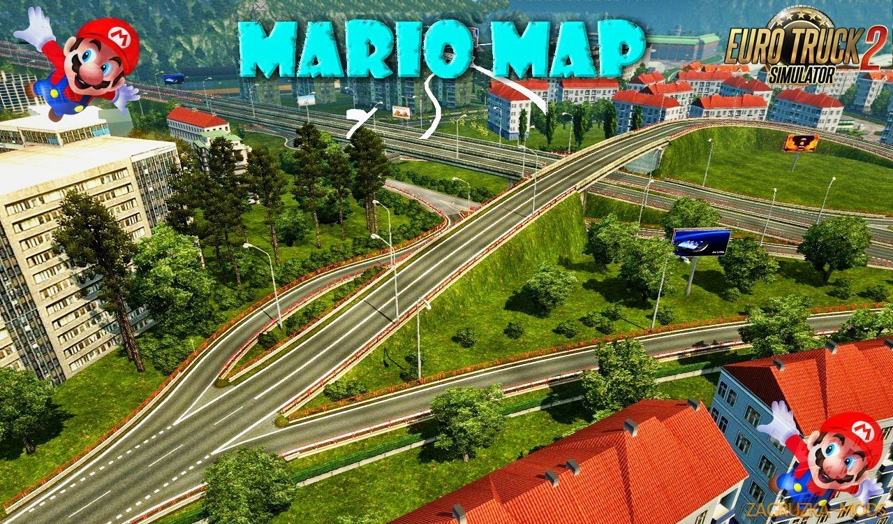 Mario Map v12.3 (Updated)