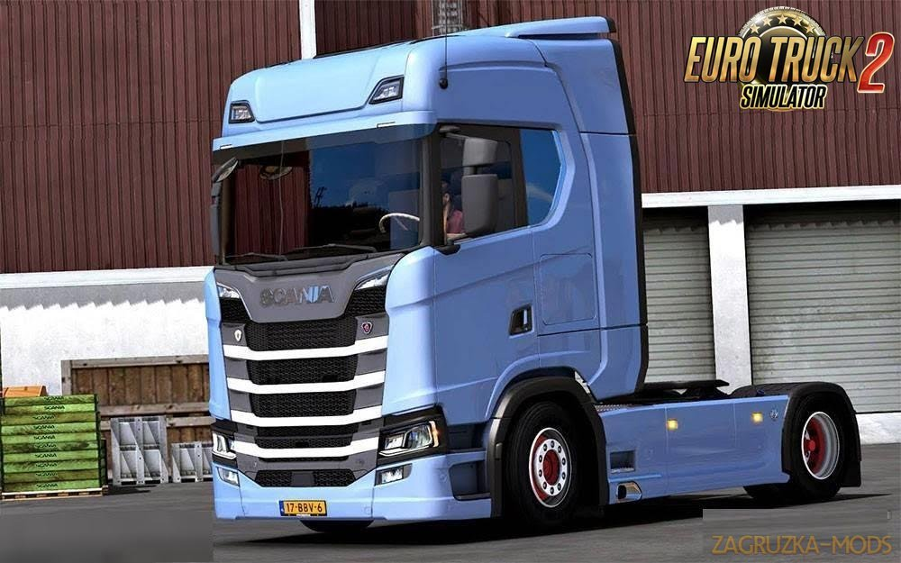 Scania S Generation (New Generation) v1.0 [1.26.x]