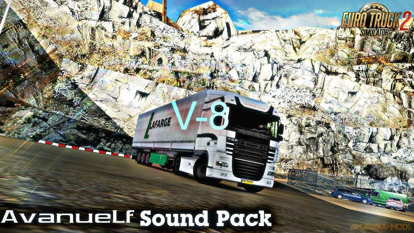 Avanuelf Sound Pack v8 for Ets2