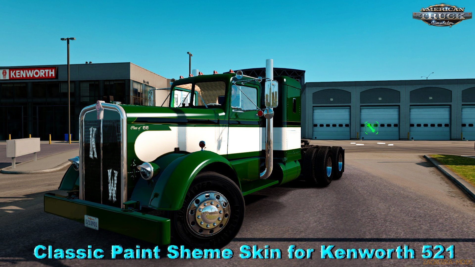 Classic Paint Sheme Skin for Kenworth 521 v1.0 (v1.5.x) for ATS