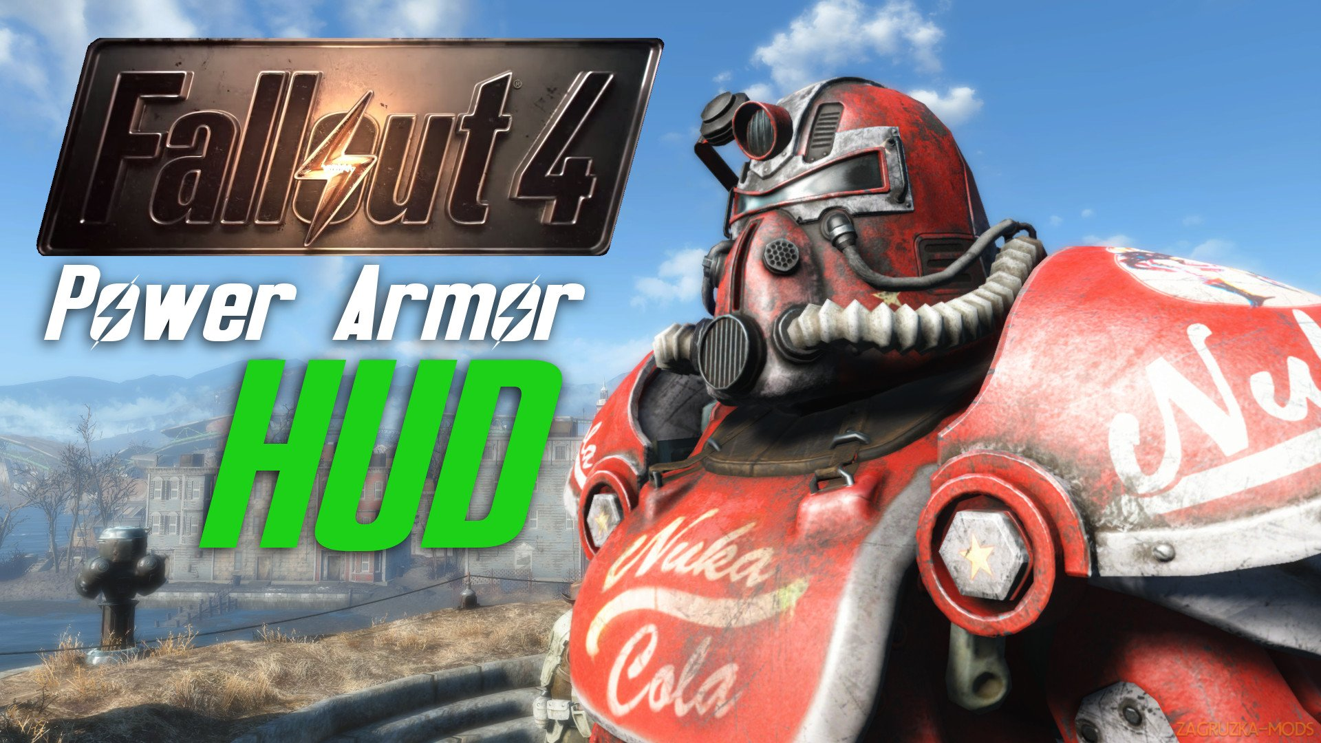 Power Armor HUD - paHUD v1.0 by Gopher for Fallout 4
