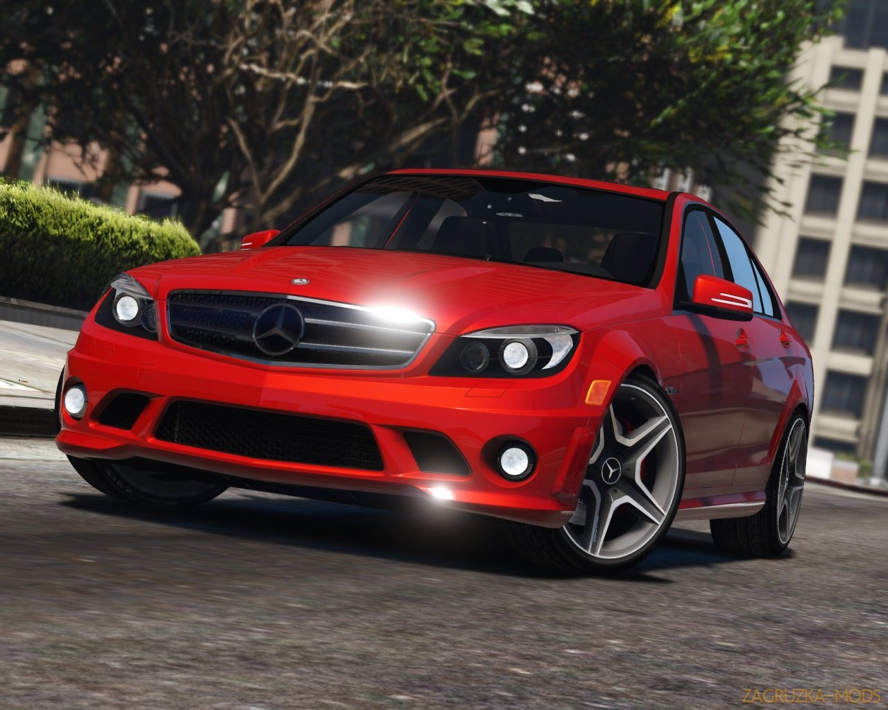 Mercedes-Benz C63 AMG W204 2011 + Tuning v1 4 for GTA 5