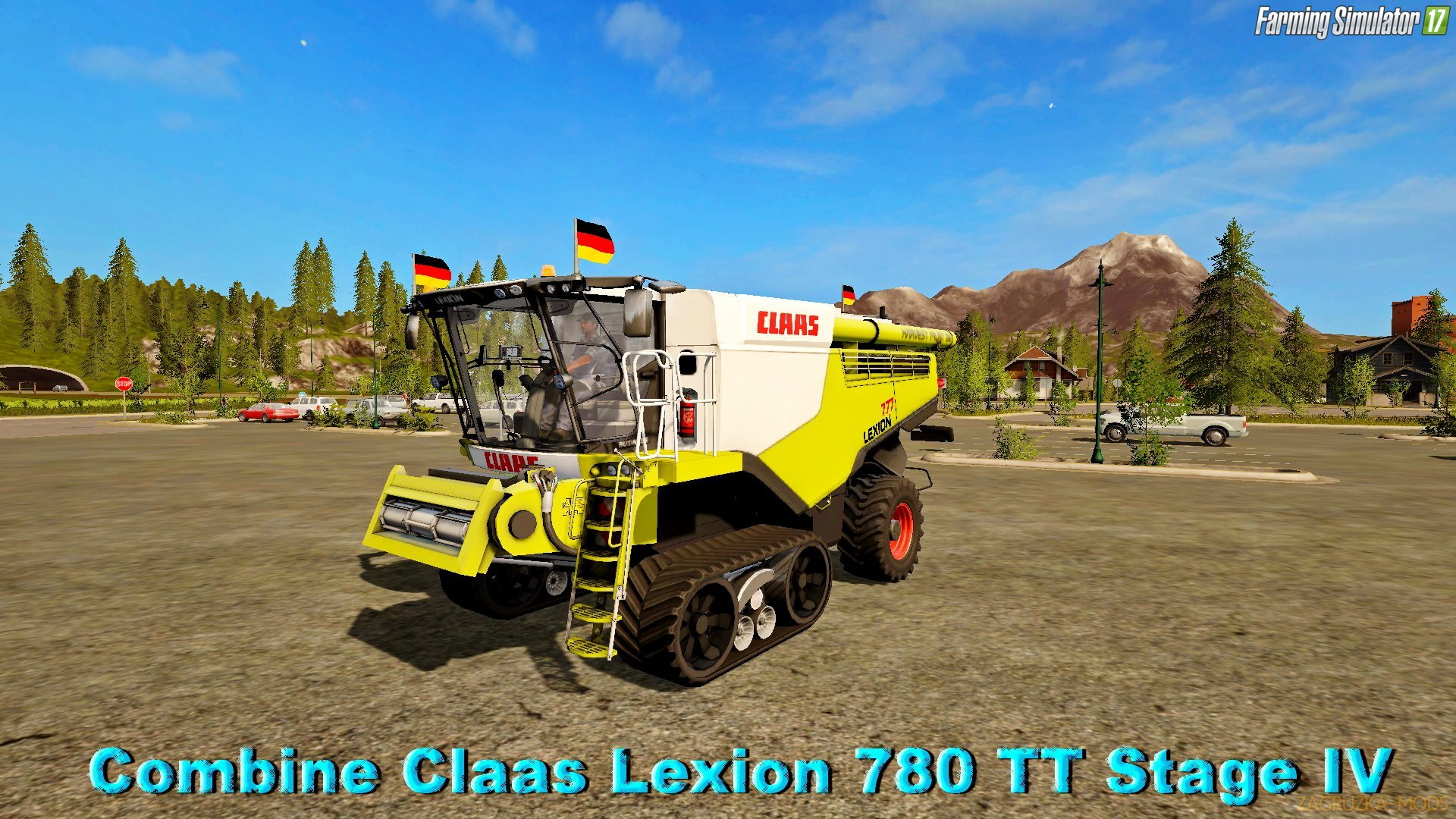 Claas Lexion 780 TT Stage IV v1.0 (Beta Version) for FS 17