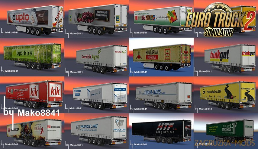 Trailers Krone Profi & Cool Liner Pack [1.26.x]
