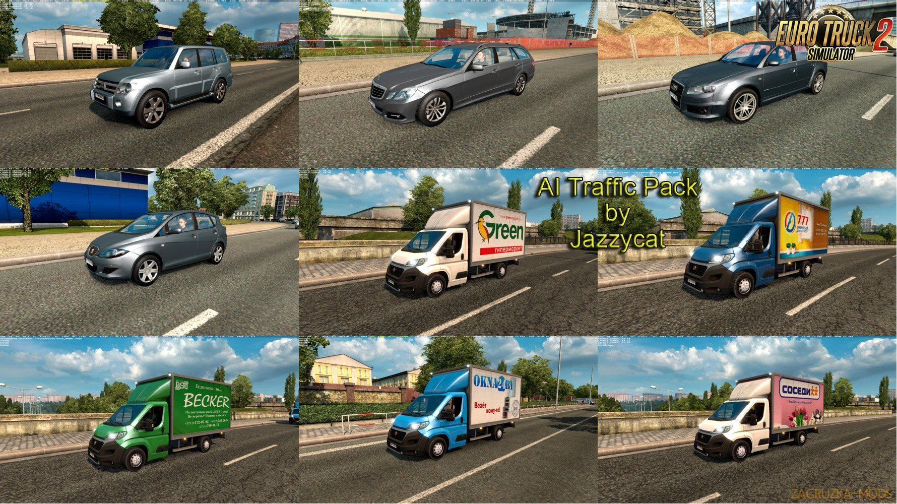 AI Traffic Pack v4.4 by Jazzycat