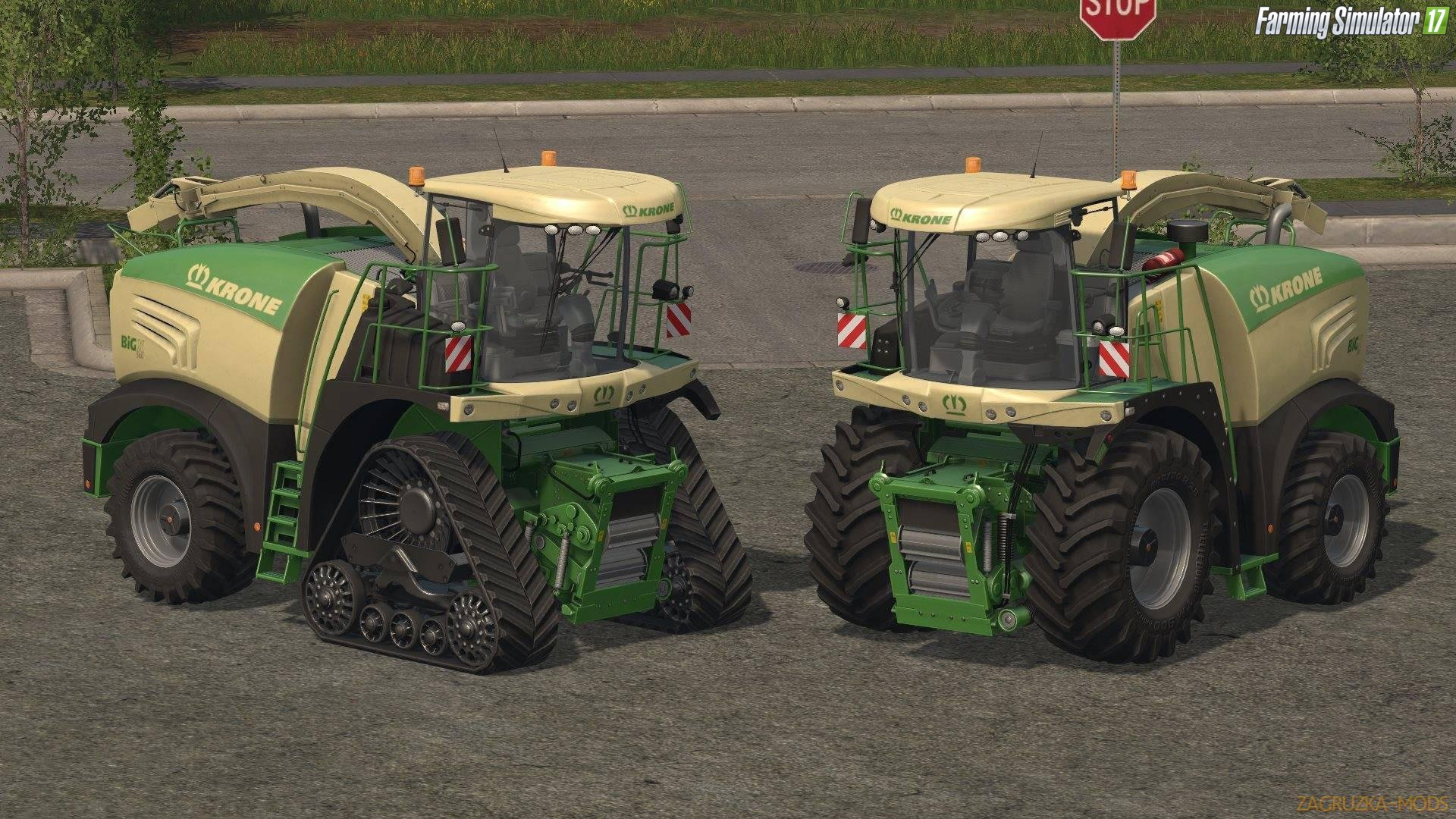 Krone BigX 580 Crawler v1.0 for Fs17
