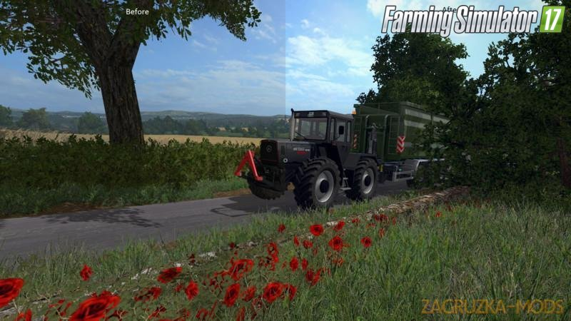 Better Graphic- Shadermod by German Warrior for Fs17