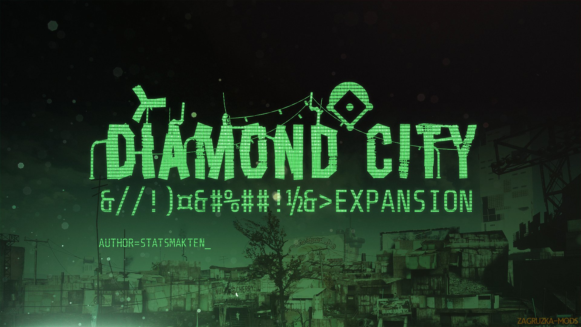 Diamond City Expansion v1.0.1 for Fallout 4