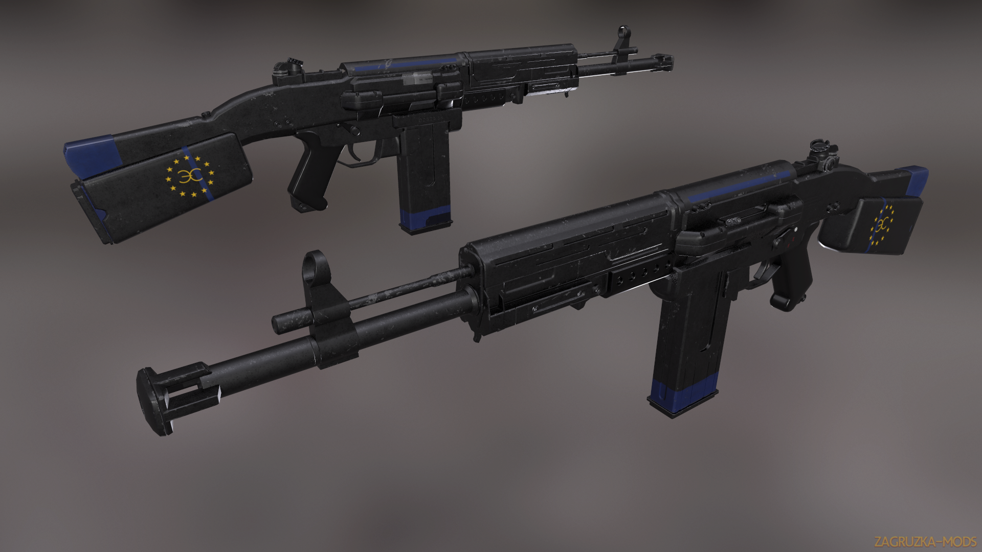 STG-60 Weapon v1.1 for Fallout 4