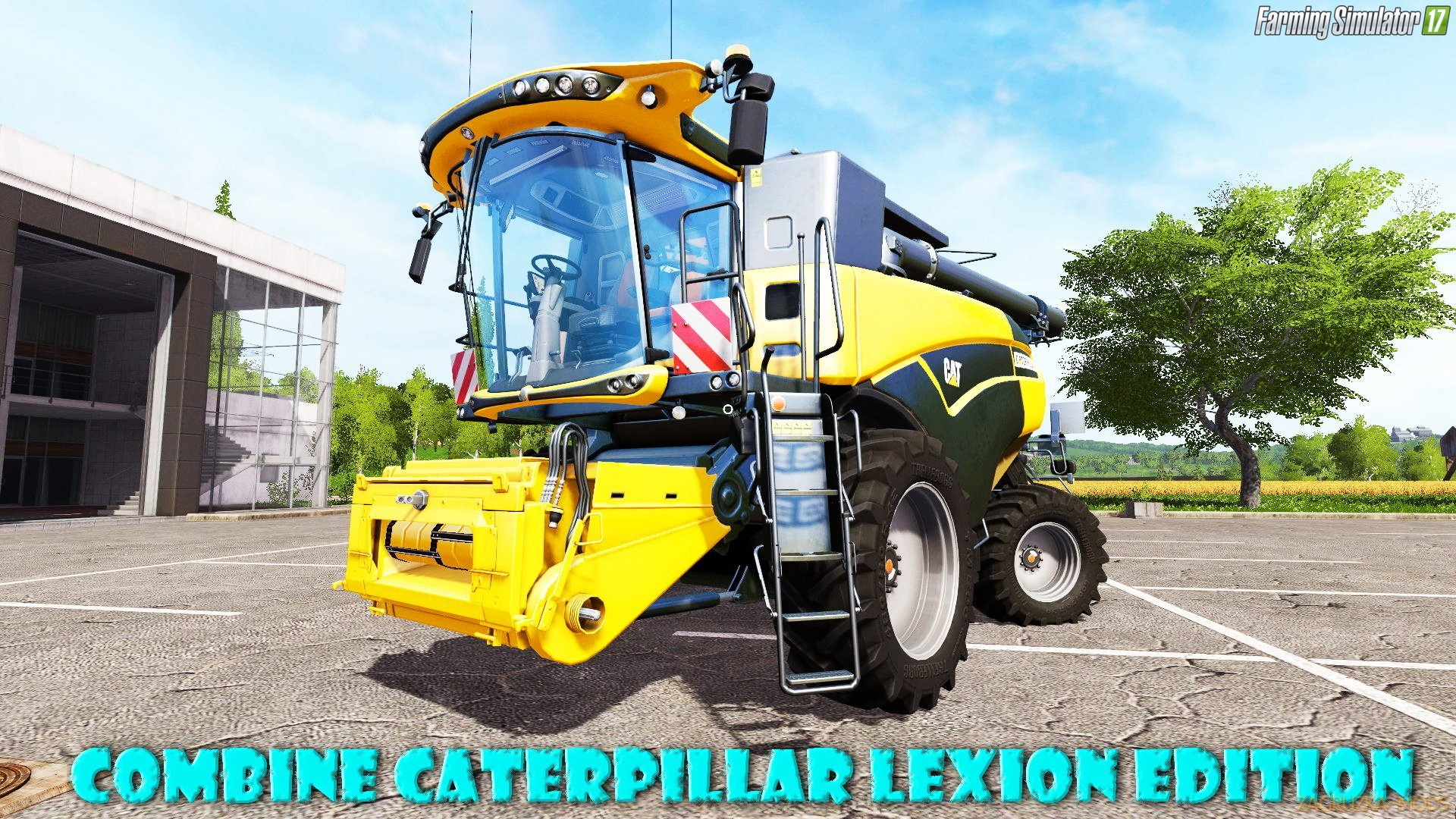 Caterpillar Lexion Edition v1.0 for FS 17