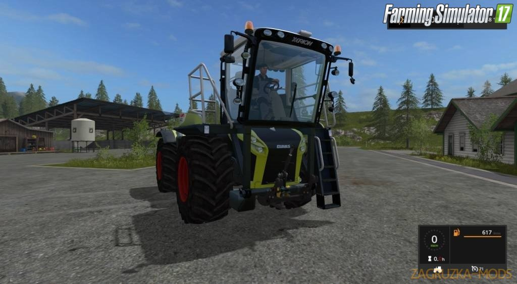 Claas Xerion 4000 ST Pack for Fs17