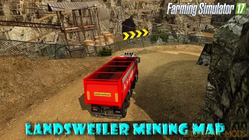 Landsweiler mining Map v1.0 for FS 17