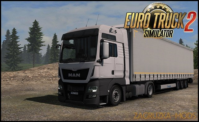 MAN TGX Euro6 Low deck v1.1 for Ets2