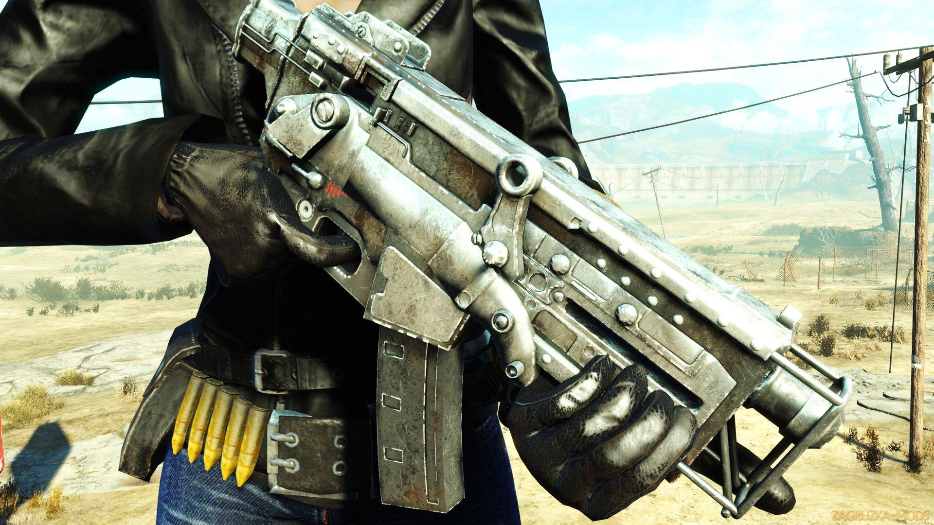 Gun GS Cyberpunk pistol v1 2 1 for Fallout 4