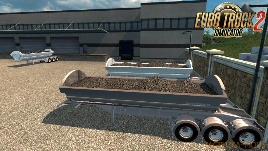 Smithco Dumper Trailer by B4RT » Simulator Mods | ETS2 | ATS