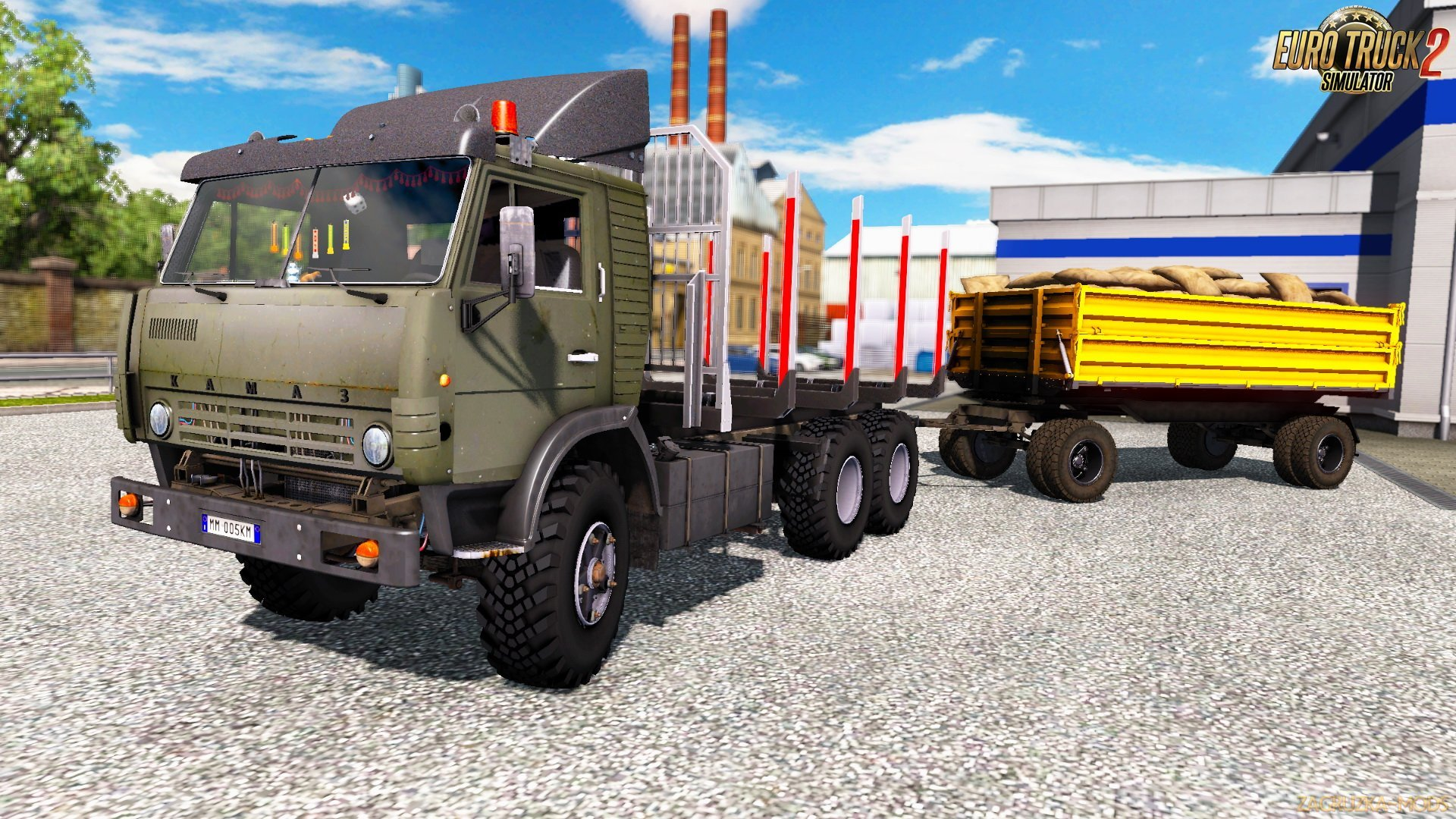 KamAZ 5410 + Interior v2.01.2 (1.38.x) for ETS2