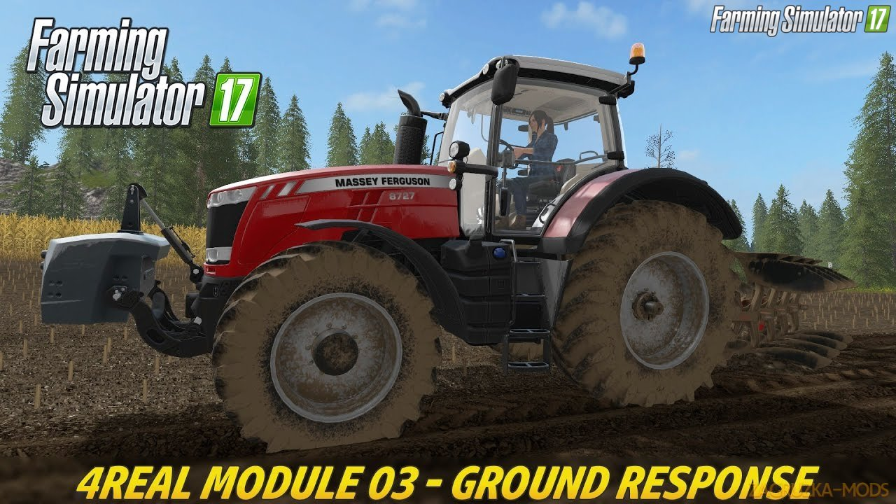 Ground Response Mod v1.3.5.2 by Giants Software for FS 17