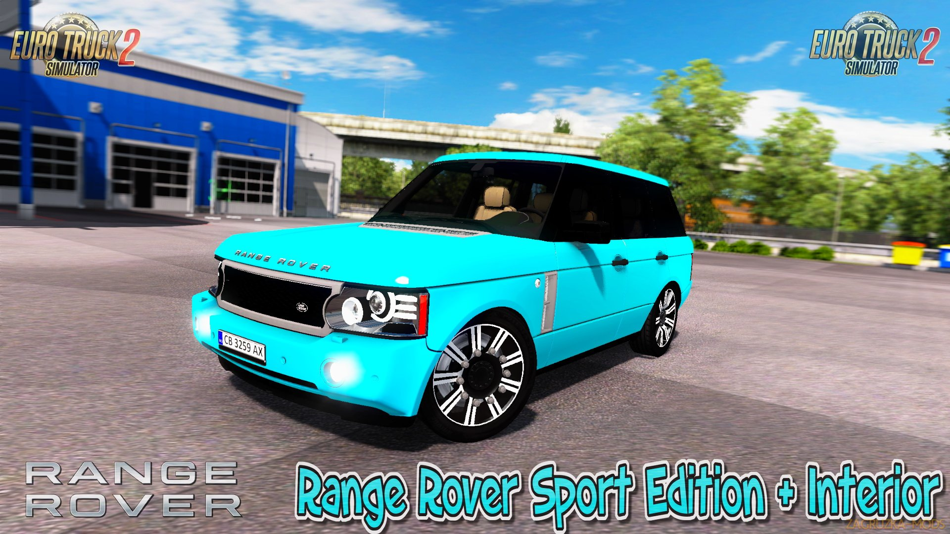 Range Rover Sport Edition + Interior v1 0 (1 26 x) for ETS 2