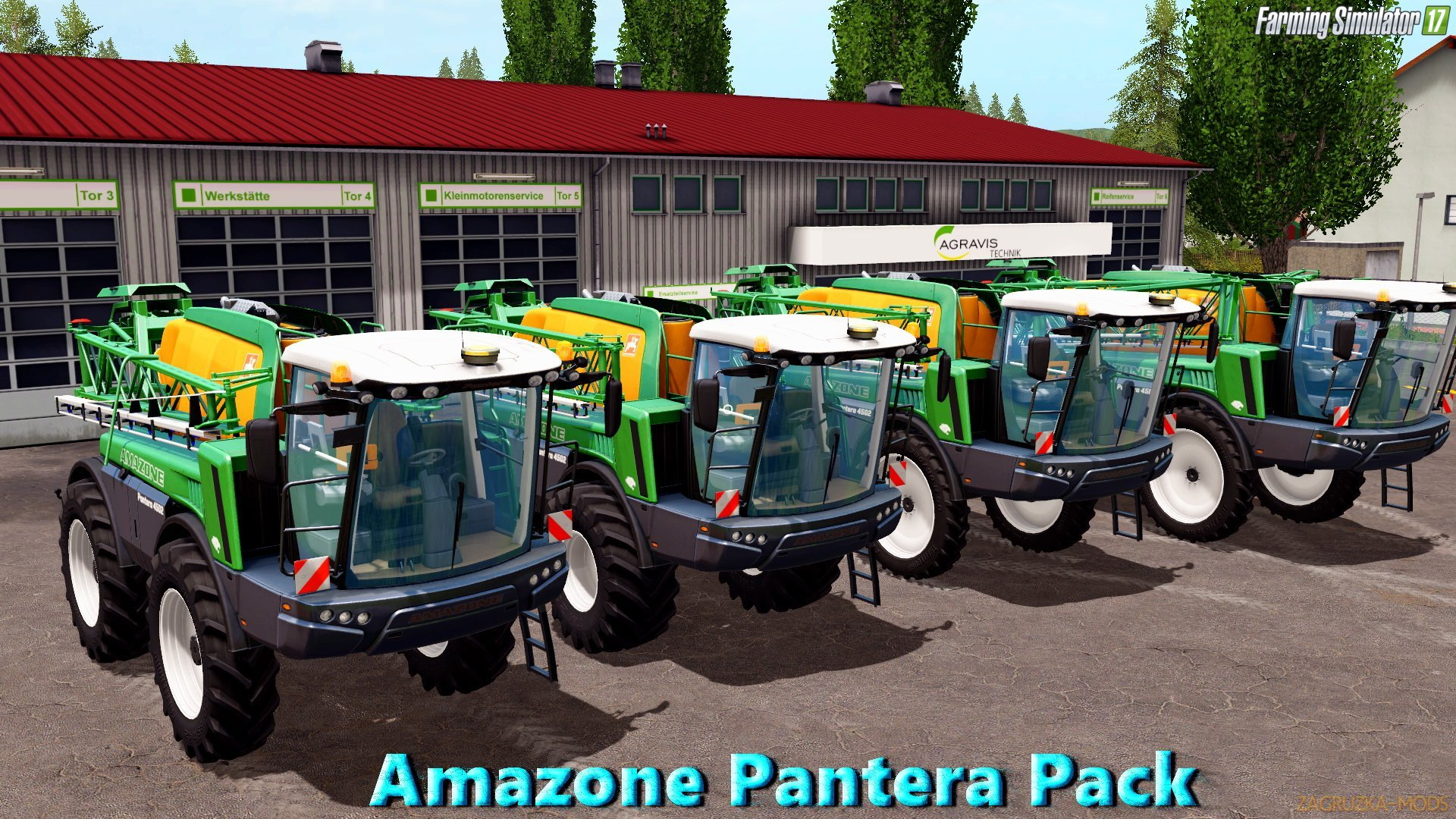 Amazone Pantera Pack v1.0 for FS 17