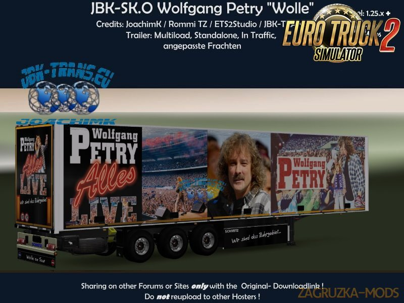 Trailer JBK-SK.O Wolle Petry