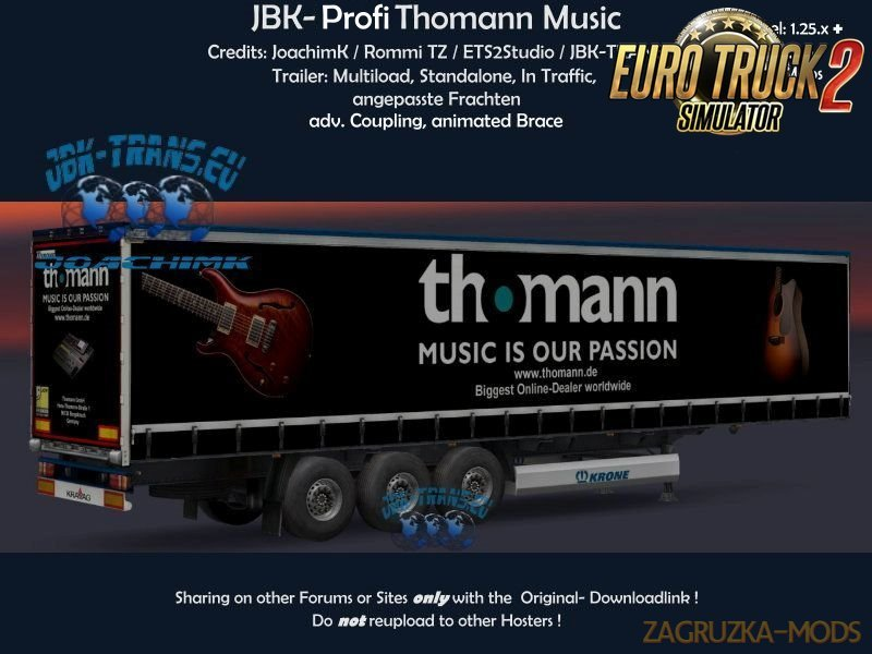Trailer JBK – Profi Thomann Music