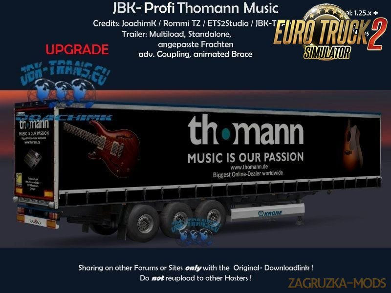 [UP] Trailer JBK-Profi Thomann Music