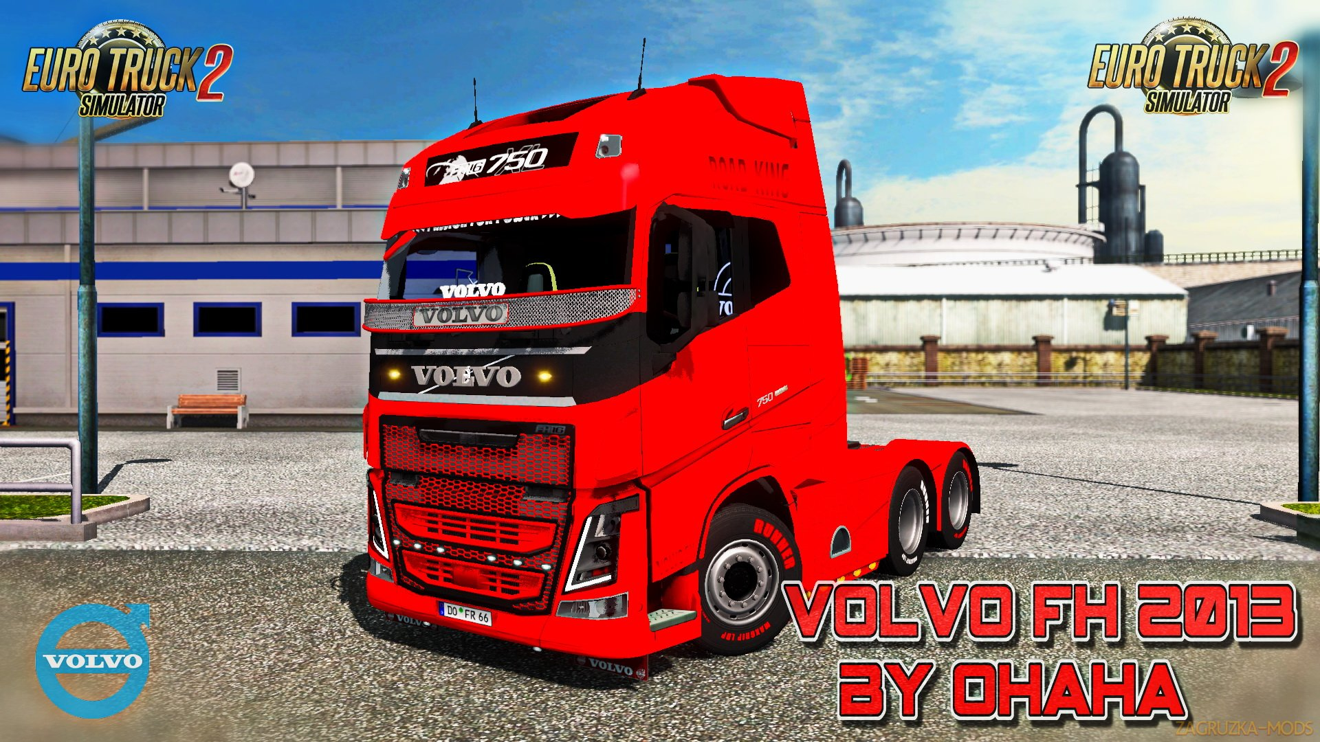Volvo FH 2013 v22.00s by Ohaha (1.36.x) for ETS2