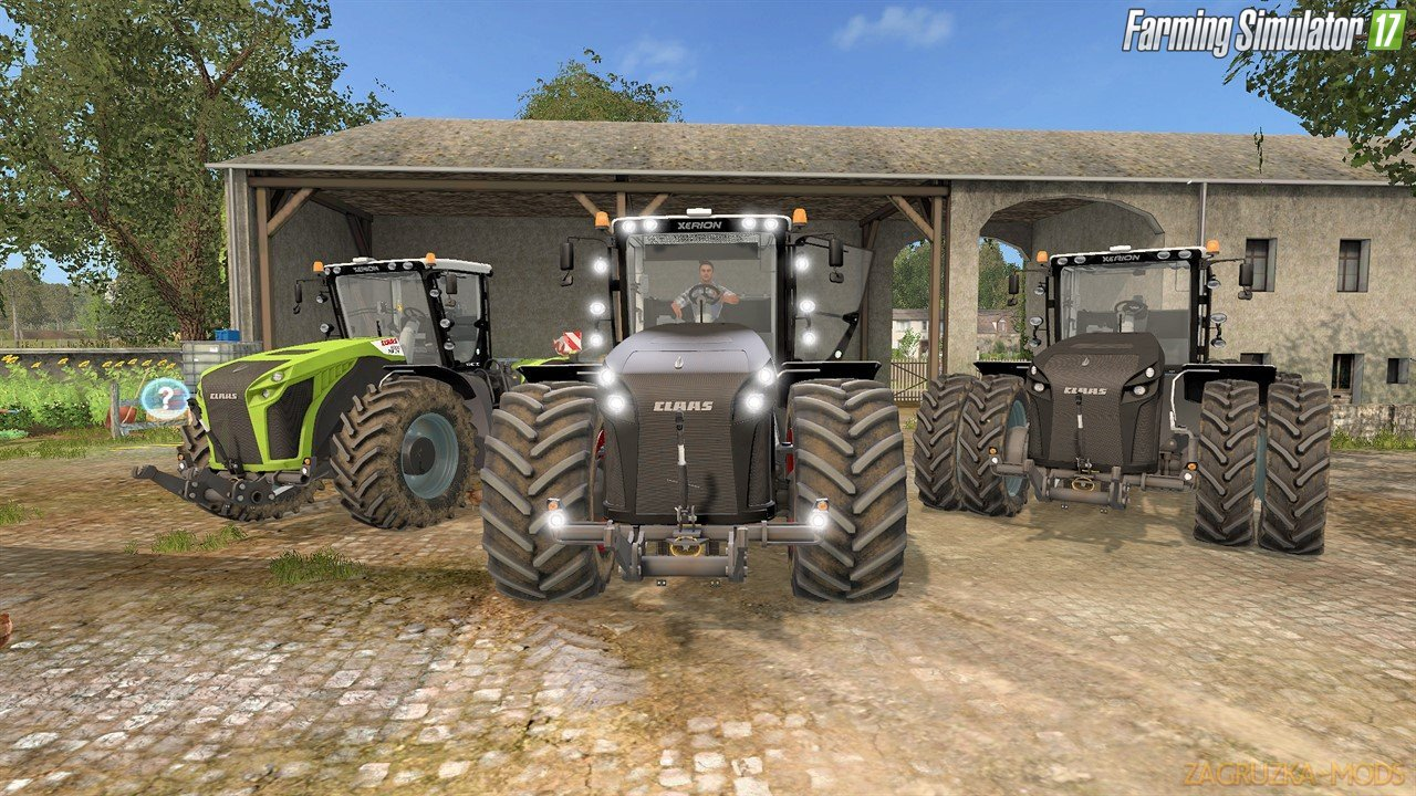 Tractor Claas Xerion 4000–5000 v3.0.0 for Fs17
