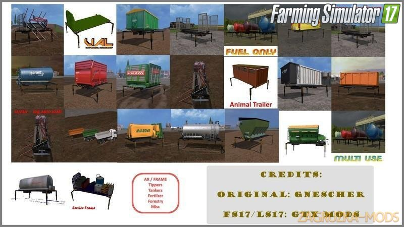 Ar/Frame - Equipment Pack v1.0 for Fs17