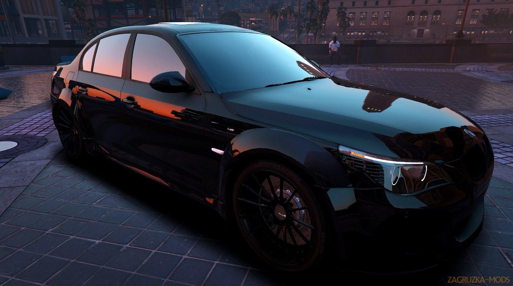 BMW M5 E60 Lumma v1 0 for GTA 5 » Download Simulator Mods | ETS2