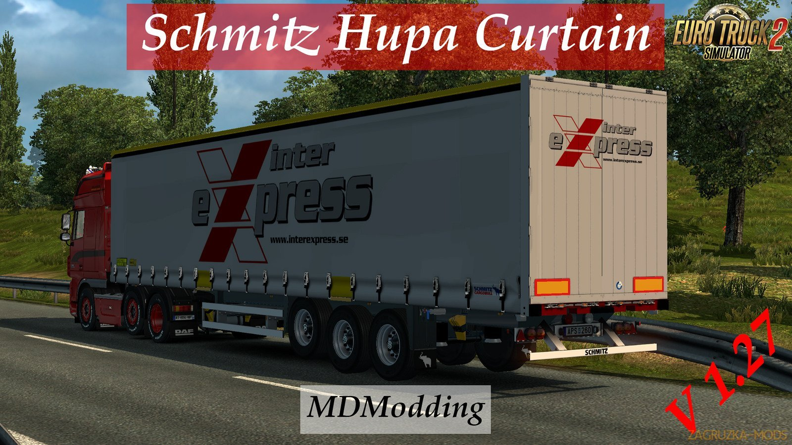Schmitz Hupa Curtain for Ets2 [1.27.x]