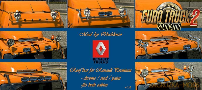 Roofbar for Renault Premium v1.0 by obelihnio [1.27.x]