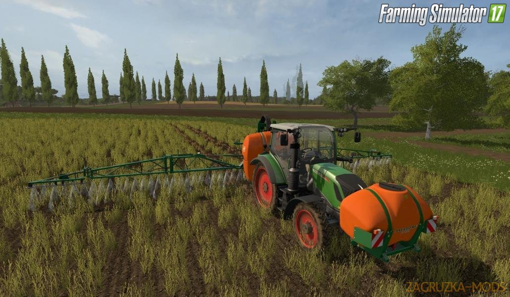4 Real Module 01 – Crop Destruction for Fs17