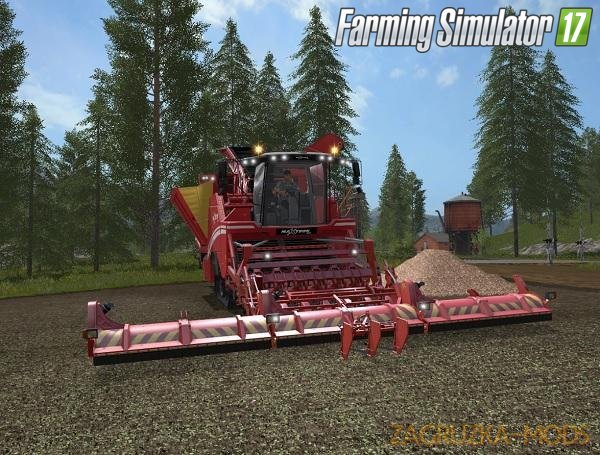 Combine Maxtron 620 (9 Meters) for Fs17
