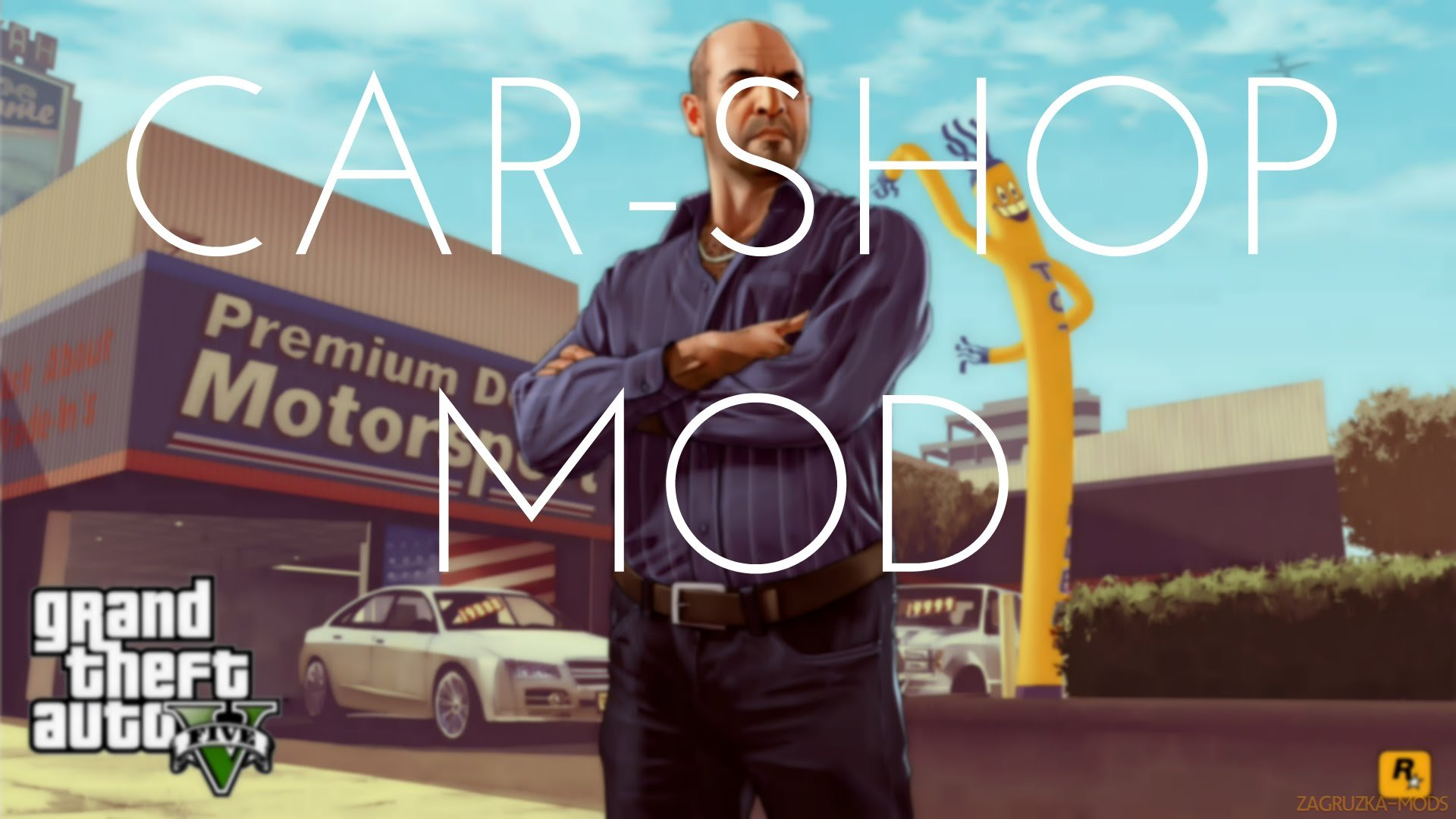 Premium Deluxe Motorsport Car Dealership v4.5.1 for GTA 5