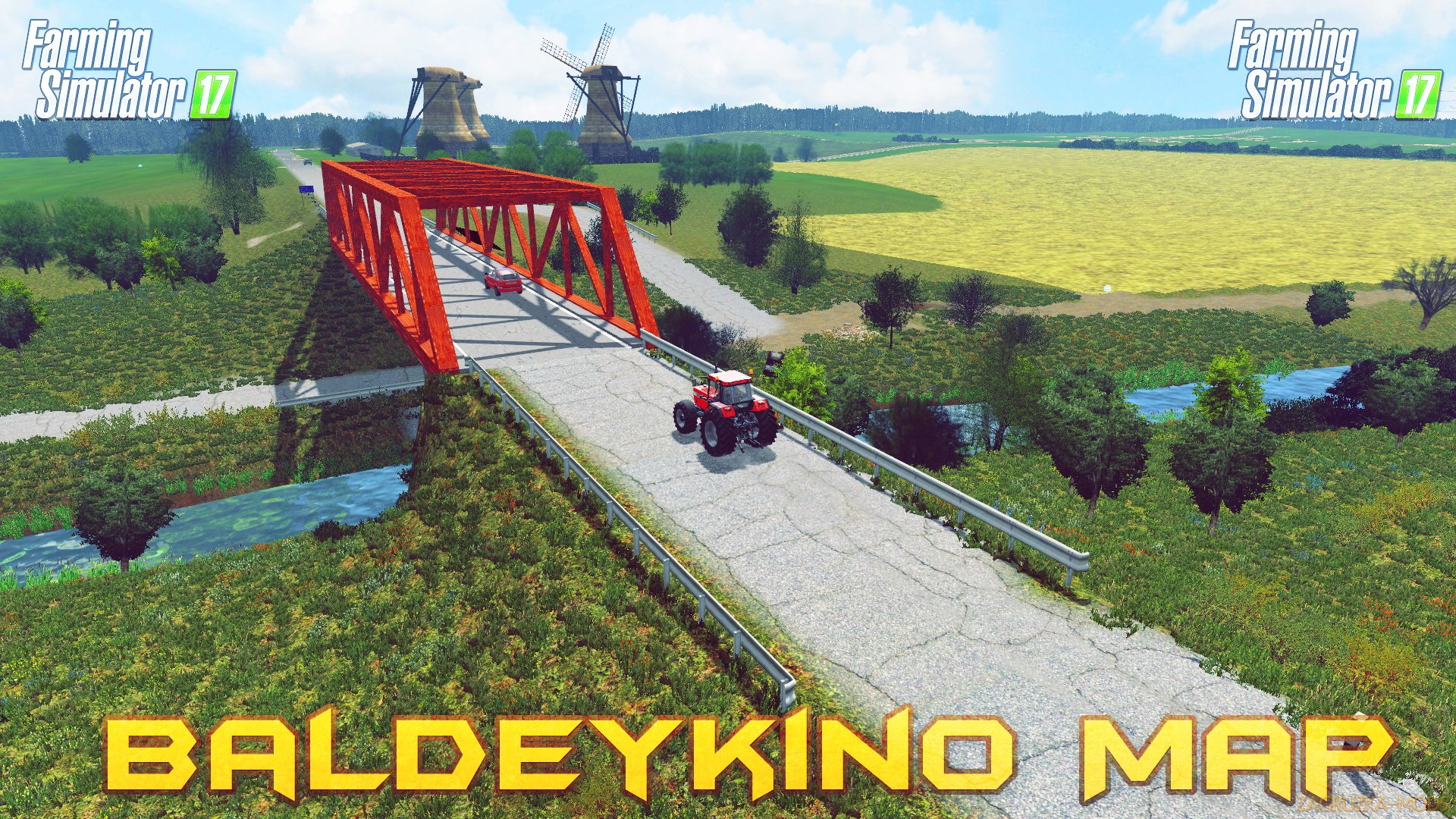 Baldeykino Map v3.0.0.5 (Updated) for FS 17