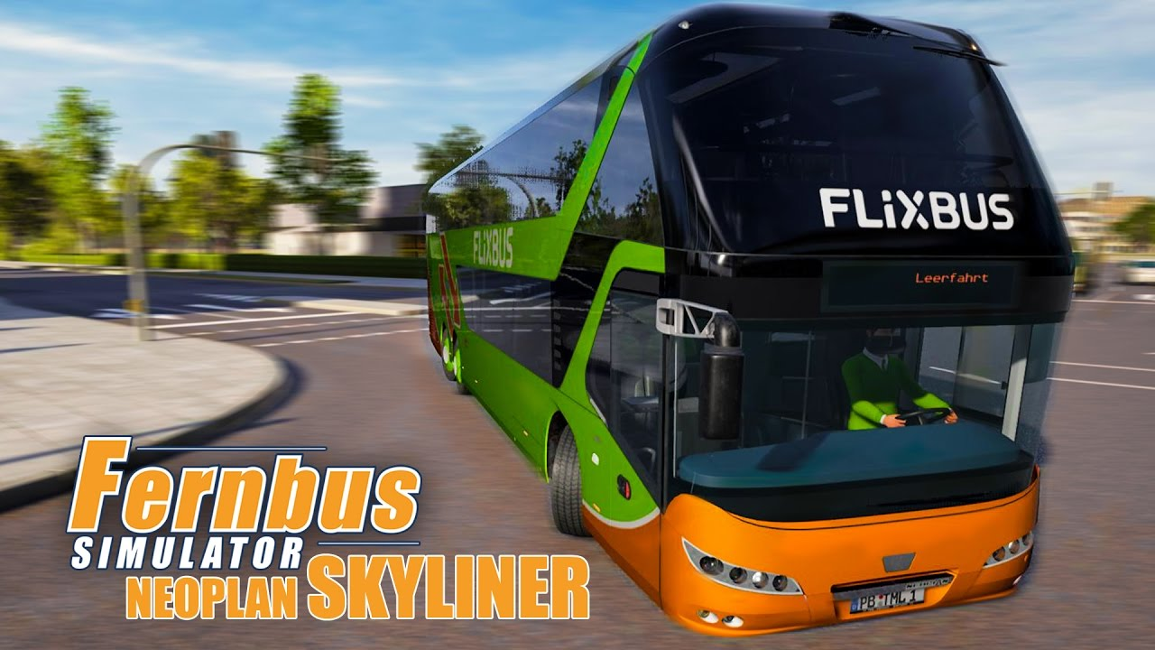 Fernbus Coach Simulator: Neoplan Skyliner DLC - Trailer released