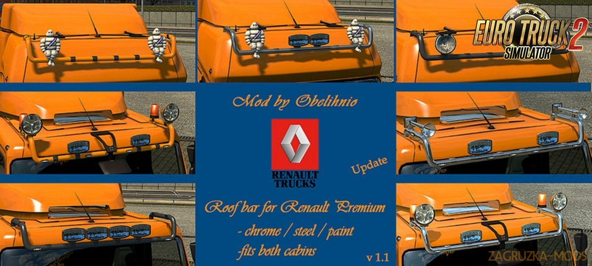 Roofbar for Renault Premium v1.1 by Obelihnio [1.27.x]