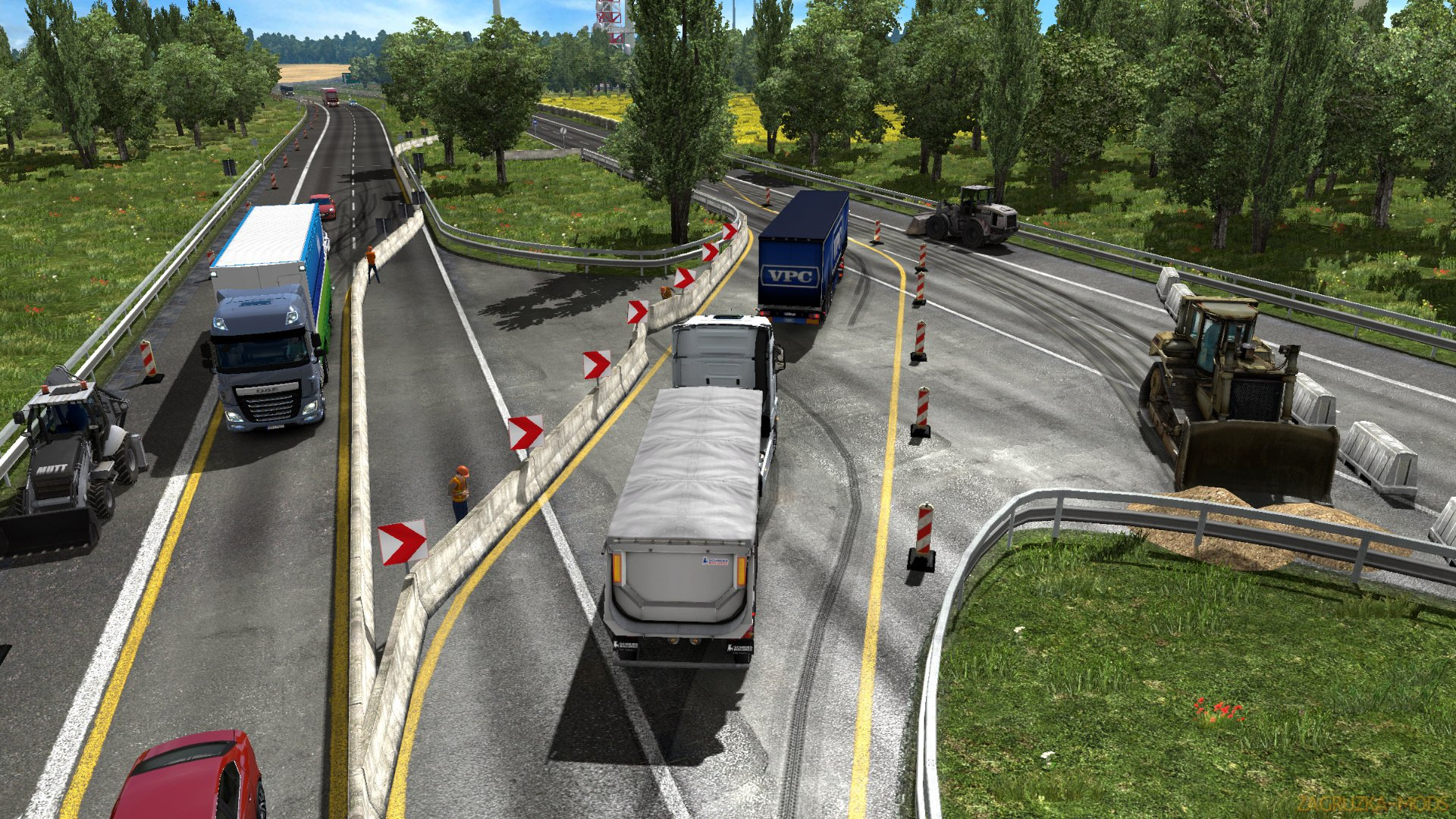 Great Poland Map v1.3.0 by ModsPL (1.30.x) for ETS 2