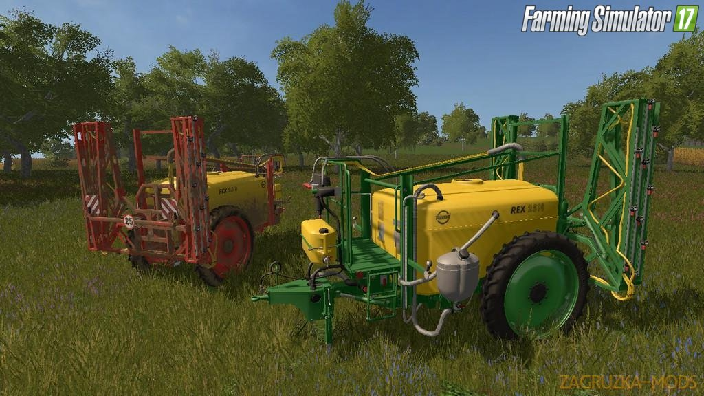 Unia Pilmet Rex 2518 for Fs17