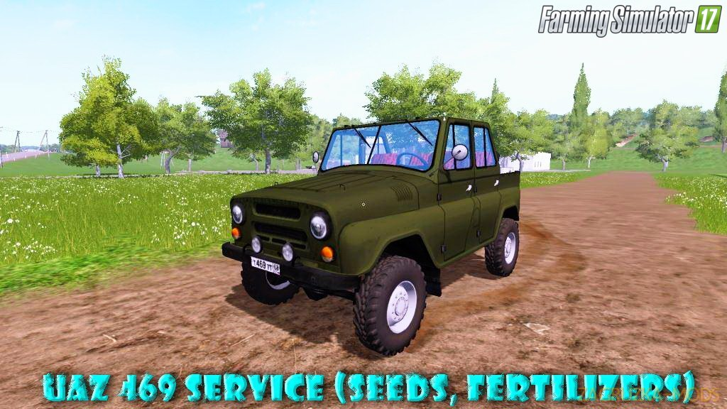 UAZ-469 Service (seeds, fertilizers) v1.0 for FS 17