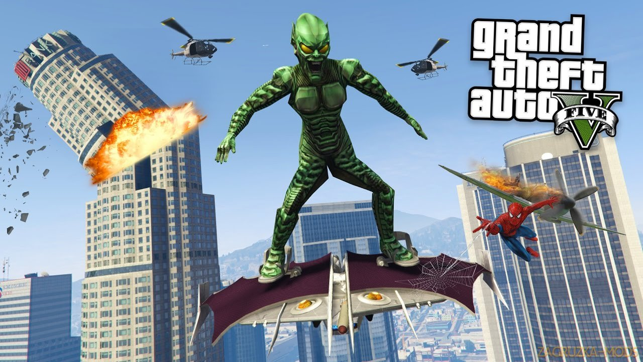 Green Goblin Mod v0.4 for GTA 5